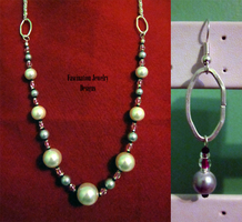 Chrome - Pearl Continuous Set by BloodRed-Orchid