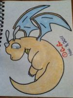 Adorable Dragonite by HollieCat13