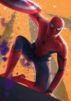 Captain Spidey by BoFeng