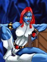 Mystique by mrfuzzynutz