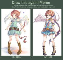 Meme  Before And After: 2012-2014 by MerimokaRay