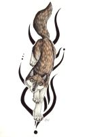 Tattoodesign for Foorbie by nelena
