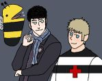 letsdrawsherlock: HolmeStuck (Kids Ver) by UsoppLover4EVER