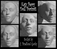 Katy Perry Doll Portrait WIP by cbgorby