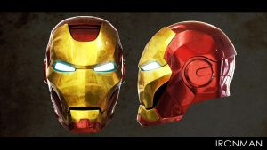 ironman_Head by euQinique