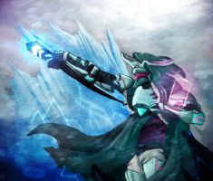 Sci-fi/Ice/Wizard by Thee7amed