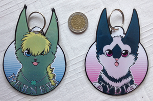 Keychain Commissions by Detrah