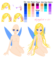 Sitting Doll Base Pixie Edit by ShinySaphire16