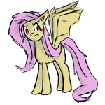 Flutterbat Sketch by OrangeTurret