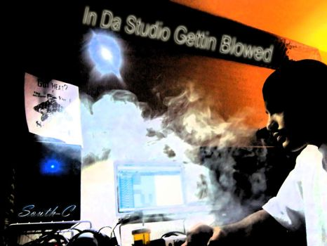 South C  Studio Blowed.letssmoke by rrpenney