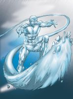 Iceman by MarcBourcier