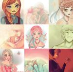 Frozen | Color Palette Meme by MitsouParker