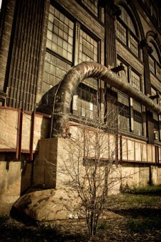 Industrial Decay by Katy-Beth