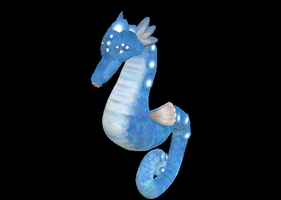 Bubble Seahorse by Lupa737