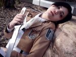 Attack on titan: Levi cosplay by Firmily
