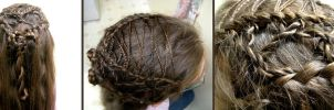 Lace Up Hair Design by aelthwyn