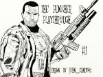 The Punisher Playthrough Thumbnail Drawn By Me. by JohnCandy45