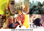 Game of Thrones Icon Pack by MeavaChan