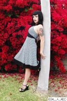 Leaning On tree by MissLindseyLou