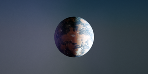 wild cow planet by AnnaPaar