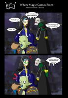EPIC LAWL : Magic Comes from.. by Chibi-Warmonger