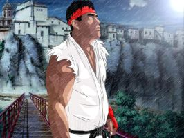 RYU Street Fighter 2012 MArcelo Irrazabal by namsen7