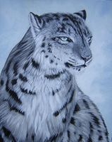 Refreshed Snow Leopard by DragonCat-Ink