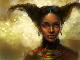 African girl by anotherwanderer