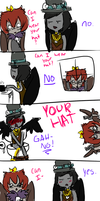 CAN I WEAR YOUR HAT by Ask-Owl-Princess