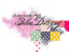 polka dots png x8 by Diane-Demiley