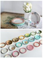Miniature Painting - Plates 2 by thinkpastel