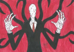 Slenderman Wants a Hug by B-RizzleXXXX