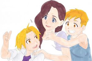 Elric Happy Family by IshidaYuki