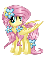 Fluttershy (Different Mane) by Sunshineshiny