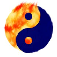 Yin Yang Fire and Water by elf1491