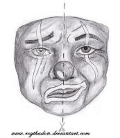 laugh now cry later mask by RoyThaDon