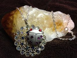 Ladybug Dewdrops by SonsationalCreations