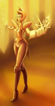 Yellow Diamond by Evanatt