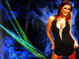Lucy Pinder 'Lasers' WP by inertiafx