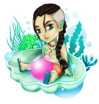 GIFT : chibi Herm by M0onQueen