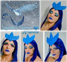 Pokemon Makeup Series - Articuno by Luthy-Lothlorien