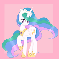 Flower Crown Princess Celestia by Ashourii