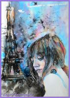 Thoughts in Paris by LORETANA