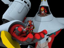 Ark Gurren Lagann Scale by Ultimatetransfan