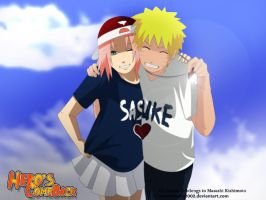 naruto and sakura loves sasuke by annria2002