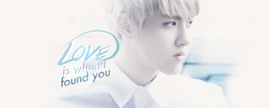 [Sign] Kris,LOVE is when i found you by kayleetihun