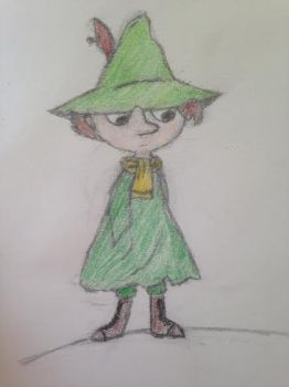 Snufkin by toystoryfanatic