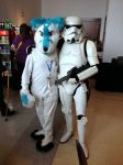 ZAereo and Storm Trooper by JAZZERDAWG