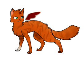 Warrior Cats- Squirrelflight- Wings Of Love by AlexHasahri