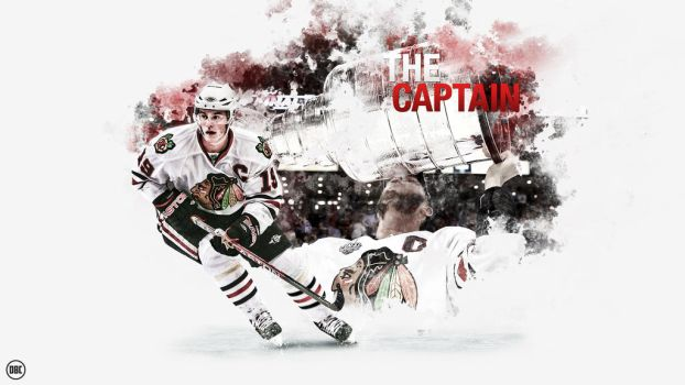 Jonathan Toews - The Captain by Chadski51